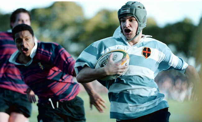 Batger playing for The Kings School against 'Joeys' in 2000 - Photo: SPA Images