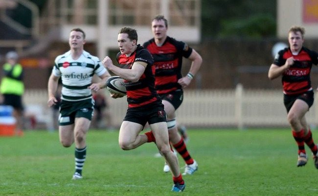 Lachie Creagh was a rare beacon of light for Norths with a fine brace of tries - Photo: Clay Cross