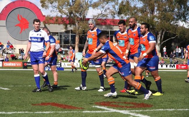 Flyhalf Rohan Saifoloi finds touch to kick-start another Rams assault - Photo: Tim Anger