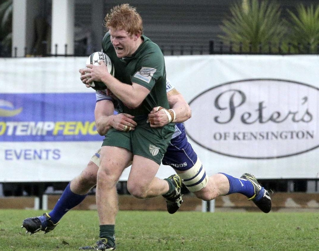 Flanker Mark Baldwin's stellar performances earned him a stint in the NRC with NSW Country Eagles - Photo: Ric McLallen