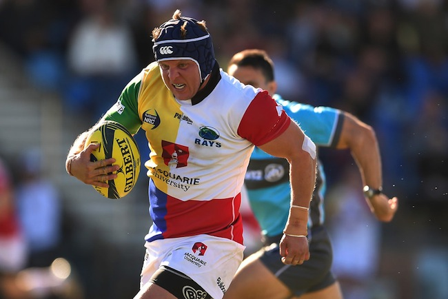 Fitzpatrick played a starring role as the Sydney Rays reached the semi-finals of the 2016 NRC - Photo: Getty Images