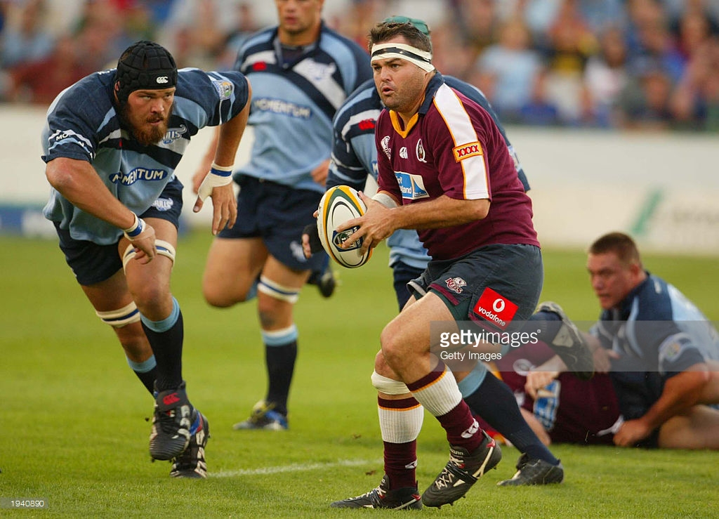 'Back in my day!' - Loosehead Stiles charges at the Bulls